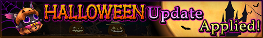 Halloween Update Applied!
